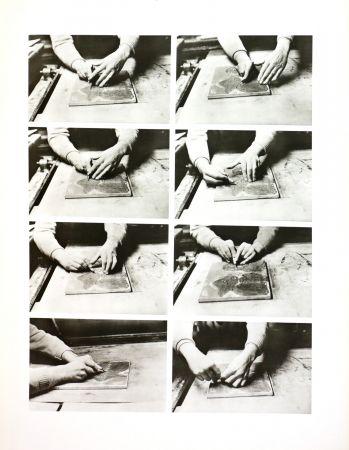 Photography Alechinsky - Les mains de Jorn