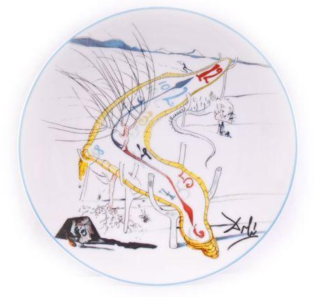Ceramic Dali - Les Montres Gélatines de l'espace temps (La Conquête du Cosmos)