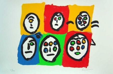 Lithograph Ionesco - Les multi voeux