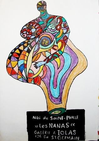Poster De Saint Phalle - Les nanas-exposition lolas