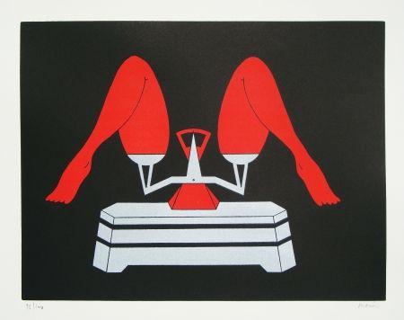 Lithograph Marien - Les noces de Jessica