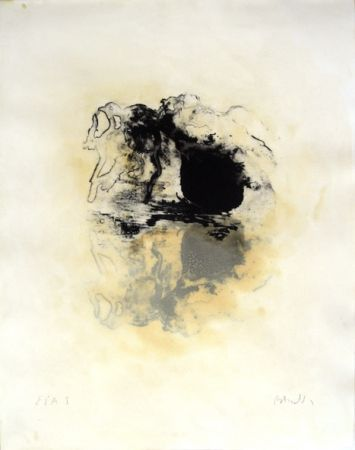 Lithograph Barcelo - Les oignons