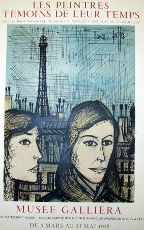 Lithograph Buffet - Les parisiennes