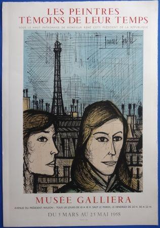 Lithograph Buffet - Les Parisiennes (sur Arches)