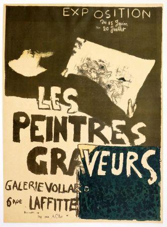 Lithograph Bonnard - Les peintres graveurs