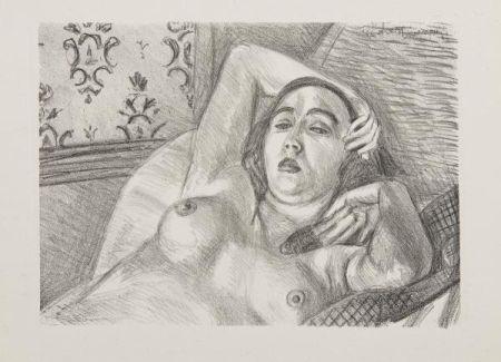 Lithograph Matisse - Les Peintres Lithographes de Manet à Matisse, circa 1925.