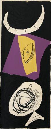 Lithograph Miró - Les Penalites de l'Enfer ou Les Nouvelles-Hebrides 1