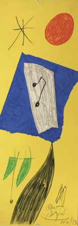 Lithograph Miró - Les Penalites de l'Enfer ou Les Nouvelles-Hebrides 2