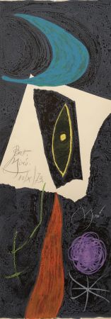 Lithograph Miró - Les Penalites de l'Enfer ou Les Nouvelles-Hebrides 4
