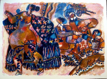 Lithograph Tobiasse - Les Plaisirs Majestueux