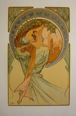 Lithograph Mucha - Les quatre saisons 2