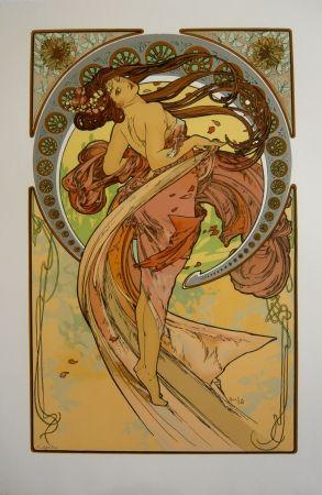 Lithograph Mucha - Les quatre saisons 4