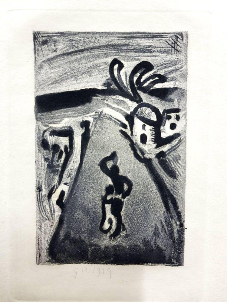 Lithograph Rouault (After) - Les Réincarnations du Père Ubu