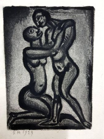 Lithograph Rouault (After) - Les Réincarnations du Père Ubu