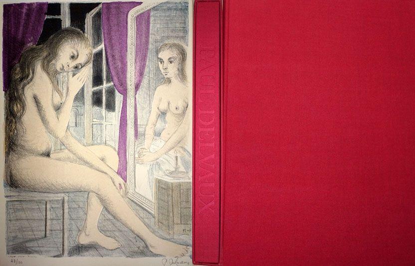 Illustrated Book Delvaux - Les Rideaux Mauves (Les Dessins de Paul Delvaux)
