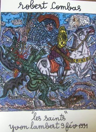 Poster Combas - Les saintes
