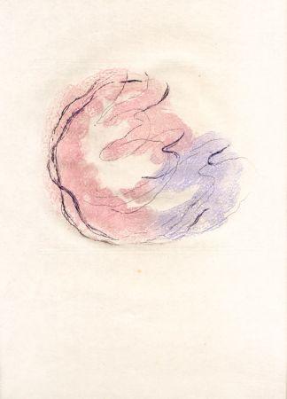 Etching And Aquatint Fautrier - Les seins et le sexe (Fautrier l'enragé)