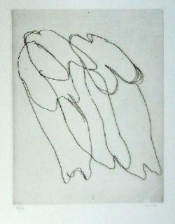 Engraving Fautrier - Les Seins Nus