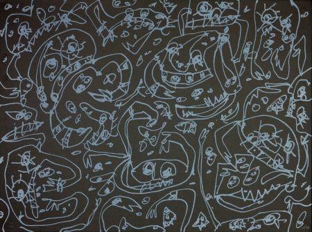 Lithograph Saura - Les Sept pêchés capitaux