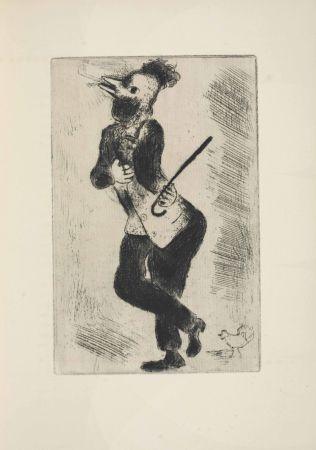 Engraving Chagall - Les sept Peches capitaux: L'Orgueil 1