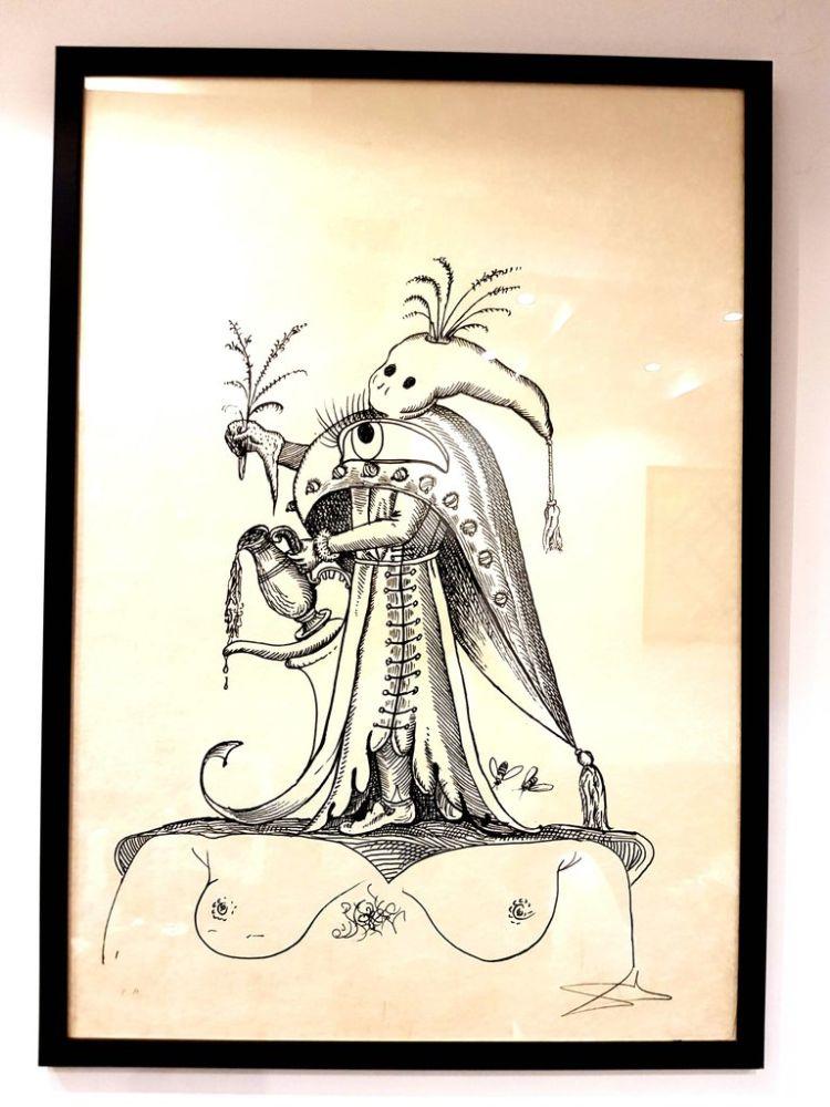 Lithograph Dali - Les Songes Drolatiques