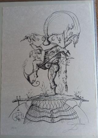 Lithograph Dali - Les Songes Drolatiques De pantagruel
