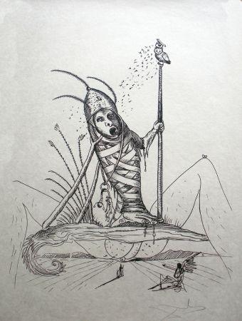 Lithograph Dali - Les Songes drolatiques de Pantagruel 15