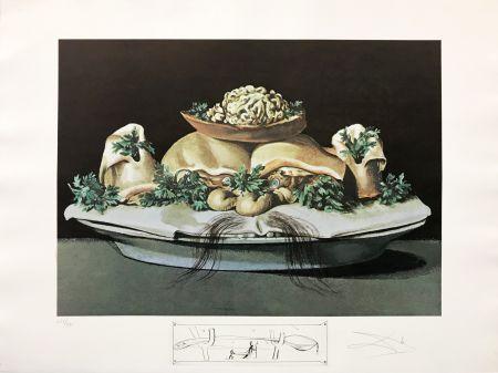 Lithograph Dali - LES SUPRENES DE MAILLAISE LILIPUTIENS