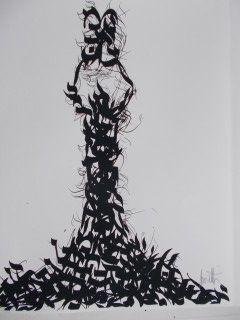 Lithograph Moretti - Les tables de la loi