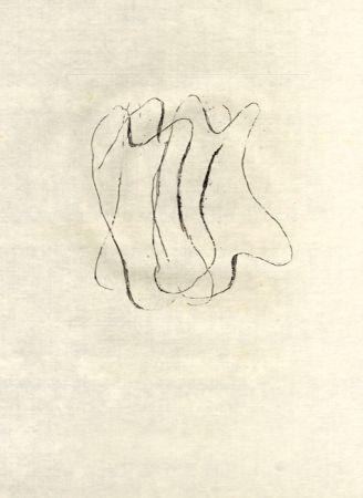 Engraving Fautrier - Les torses nus (fautrier l'enragé)