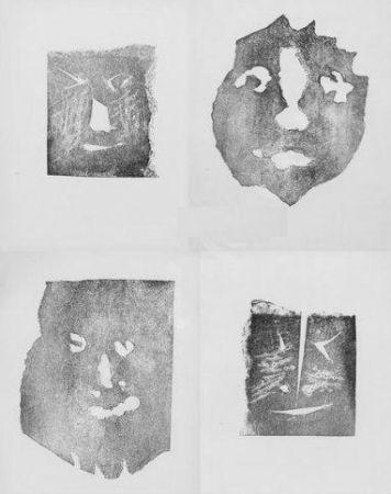 Etching Picasso - Les transparents