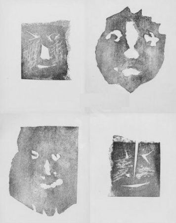 Etching Picasso - Les transparents