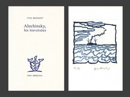 Illustrated Book Alechinsky - Les Traversées