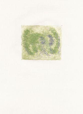 Engraving Fautrier - Les trois arbres (Fautrier l'enragé)