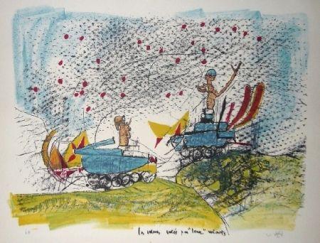 Lithograph Matta - Les voleurs volés par leurs volants