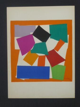 Lithograph Matisse - L'escargot, 1953