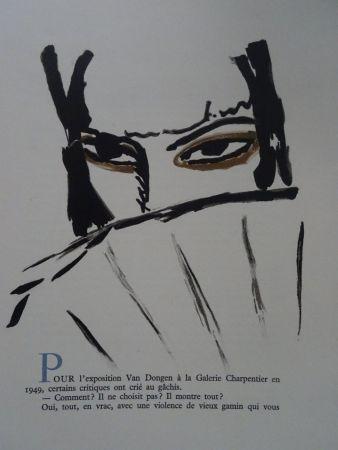 Lithograph Van Dongen - L'Espagnole