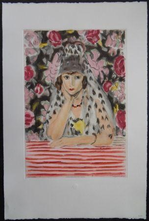 Etching And Aquatint Matisse - L'espagnole