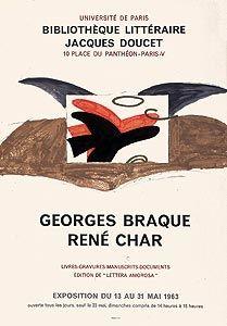 Poster Braque - Lettera amorosa