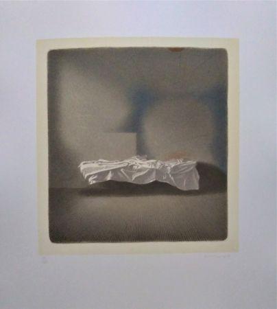 Lithograph Ferroni - Lettino