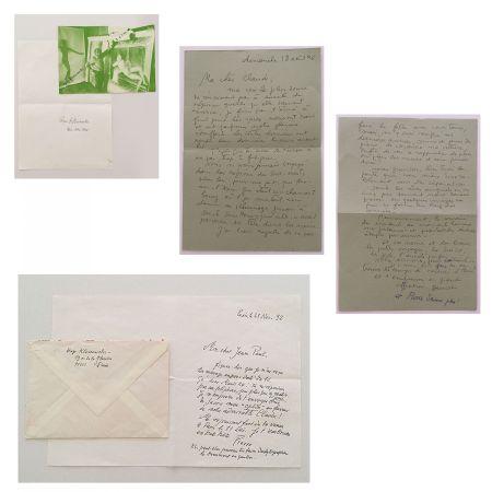 No Technical Klossowski - Lettres manuscrites
