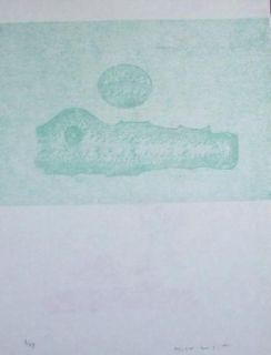 Lithograph Ernst - Lewis Caroll's Wunderhorn