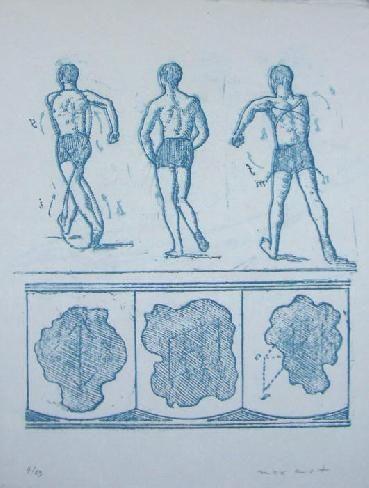 Lithograph Ernst - Lewis Carroll's Wunderhorn 13