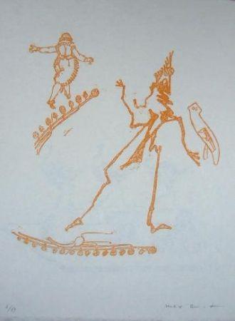 Lithograph Ernst - Lewis Carroll's Wunderhorn 15