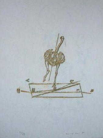 Lithograph Ernst - Lewis Carroll's Wunderhorn 17