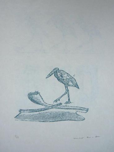 Lithograph Ernst - Lewis Carroll's Wunderhorn 19