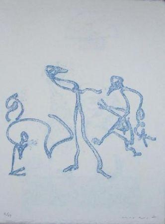 Lithograph Ernst - Lewis Carroll's Wunderhorn 2