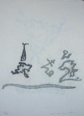 Lithograph Ernst - Lewis Carroll's Wunderhorn 25