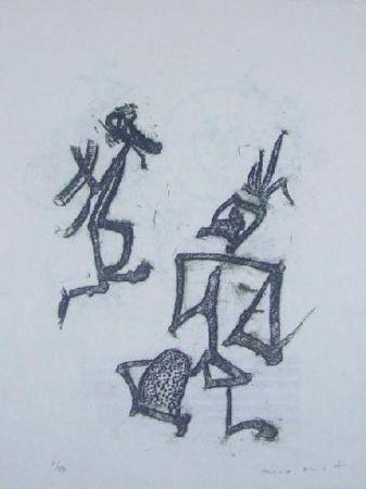 Lithograph Ernst - Lewis Carroll's Wunderhorn 28