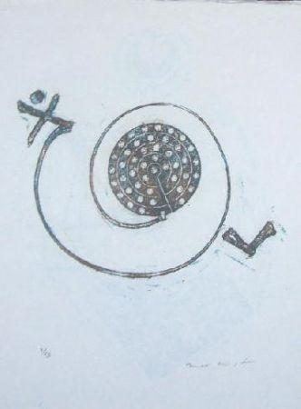Lithograph Ernst - Lewis Carroll's Wunderhorn 30